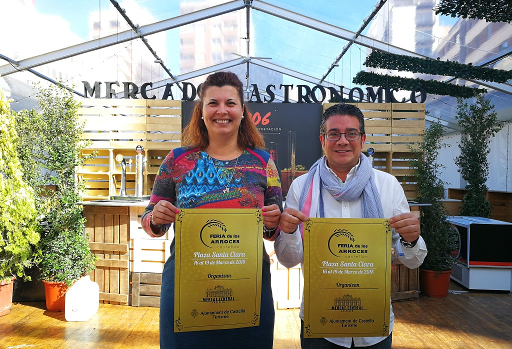La I Feria de los Arroces de Castellón llena el centro de Castellón de los mejores arroces de la provincia