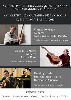 XVI Festival de Guitarra de Peñíscola