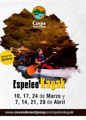 EspeleoKayak en Coves de Sant Josep en Vall d'Uixó