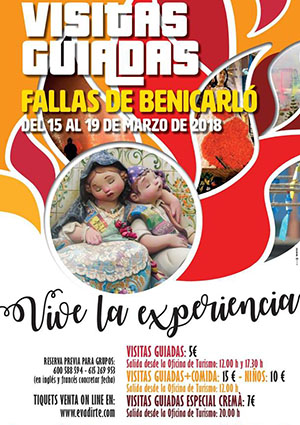 Visitas guiadas a las Fallas de Benicarló