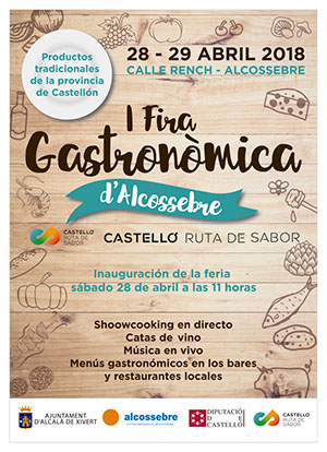 I Fira Gastronòmica Castellón Ruta de Sabor en Alcala de Xivert y Alcossebre