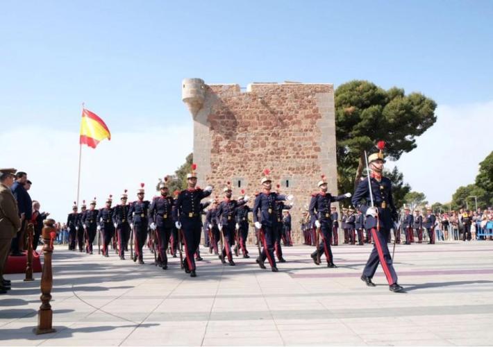Vídeo de la Guardia Real en Castellón