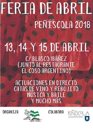Feria de abril de Peñíscola 2018