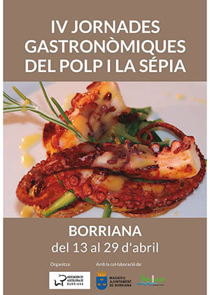 Jornadas gastronómicas del pulpo y la sépia de Burriana