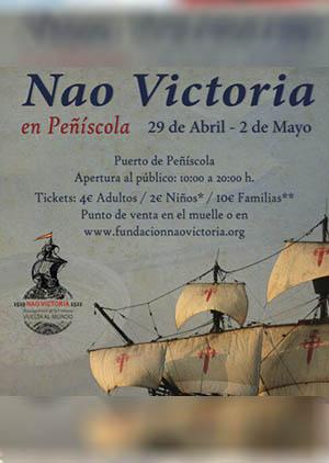 La Nao Victoria en Peñíscola