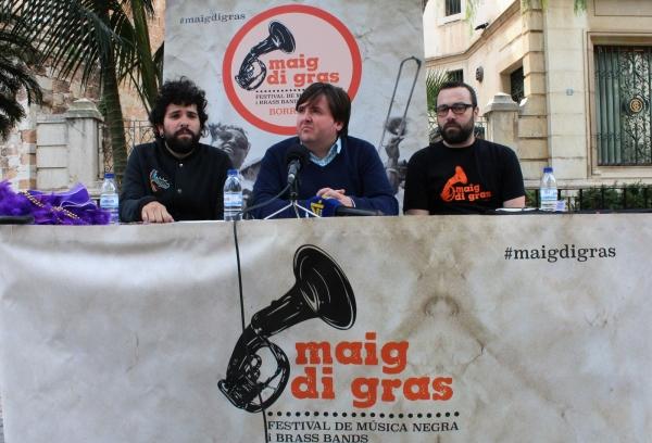 Más música negra, más participación popular y las mejores Brass Bands para la tercera edición del Maig di Gras de Burriana
