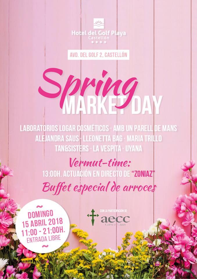 Spring Market Day en Hotel del Golf Playa Castellón
