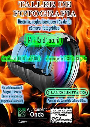 Curso de fotografía gratuito en Onda