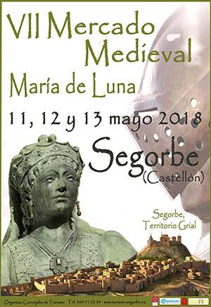 VII Feria Medieval María de Luna 2018