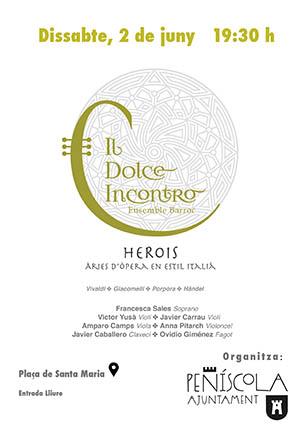 Il Dolce Encontro, Música Barroca en Peñíscola
