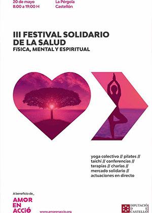 III Festival solidario de la salud física, mental y espiritual