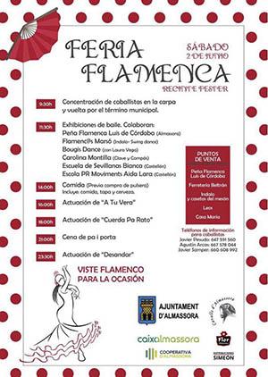 Fiesta Flamenca en Almassora