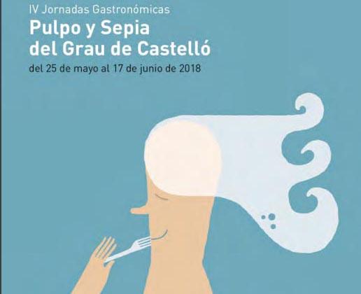 Las Jornadas de Sepia y Pulpo del Grao de Castellón nos acercan menús muy atractivos
