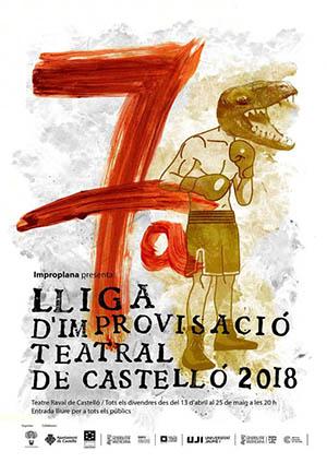 7ª Liga de improvisación teatral de Castellón 2018