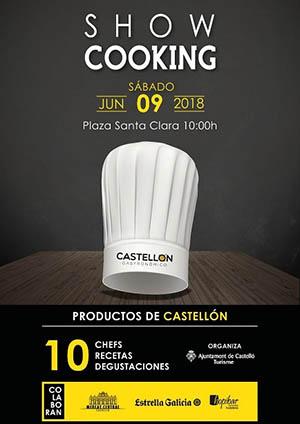 Showcooking con productos de Castellón