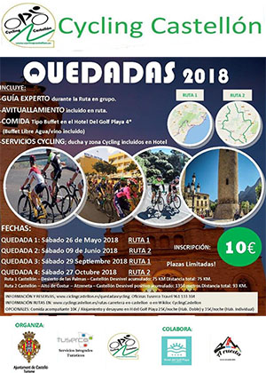 Quedadas Cycling Castellón 2018
