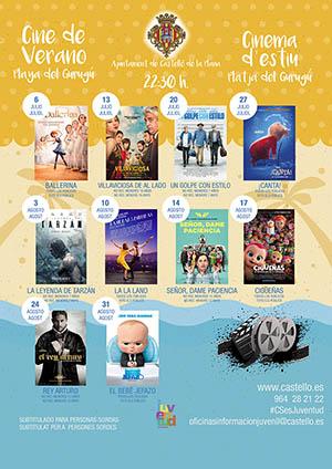 Cine de verano en la Playa del Gurugú 2018