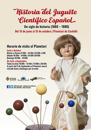 Exposición en el Planetario del Grao