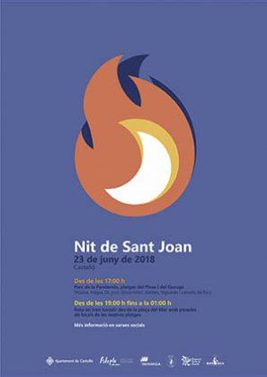 Noche de San Juan en el Grao de Castellón