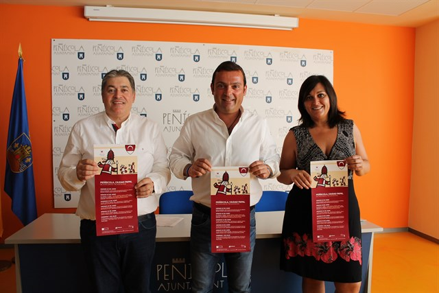 Peñíscola da la bienvenida al verano con la recreación histórica «Peñíscola, Ciudad Papal»