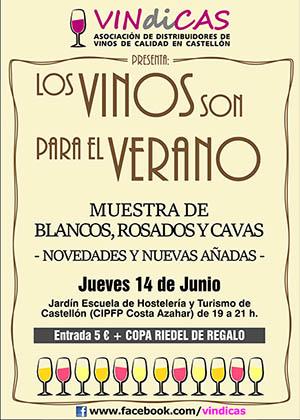 'Los Vinos son para el Verano'