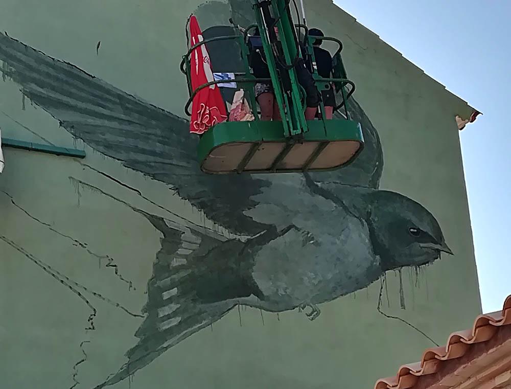 El MIAU 2018 cierra sumando nuevos murales a las fachadas de Fanzara