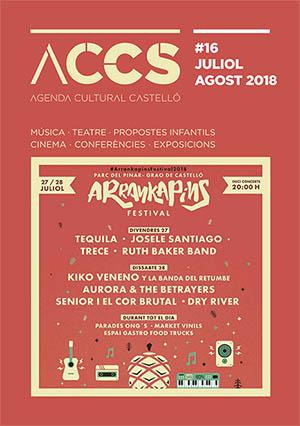 Agenda cultural de julio y agosto de Castellón