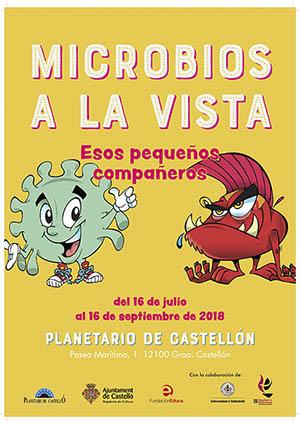 Exposición 'Microbios a la vista'