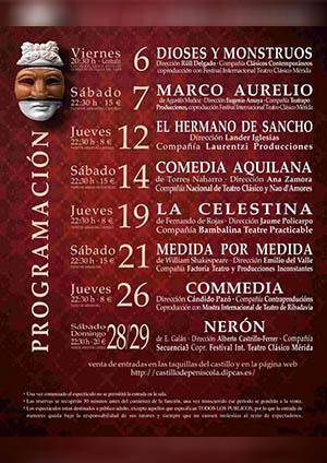 XXI Festival de Teatro Clásico de Peñíscola