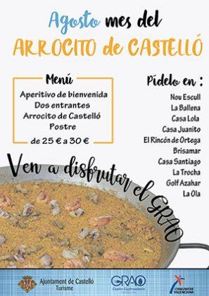 Agosto, mes del Arrocito de Castellón