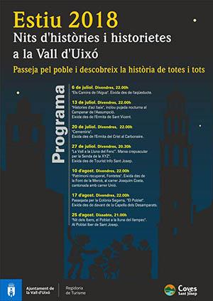 Nits d'histories i historietes a la Vall d'Uixó