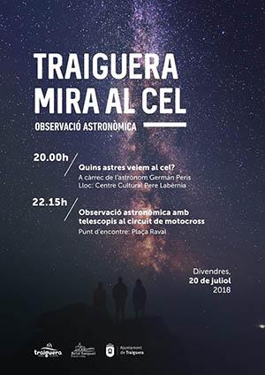 Observación astronómica en Traiguera