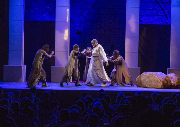 Peñíscola clausuró el Festival de Teatro Clásico con la doble representación de 'Nerón'