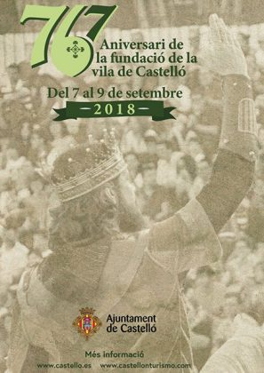 767º aniversario de la Fundación de Castellón