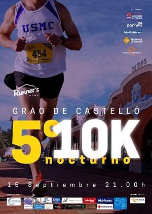 5ª 10K Nocturna de Castelló