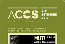 Agenda cultural Castelló septiembre