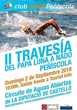 II Travesía del Papa Luna a nado en Peñíscola