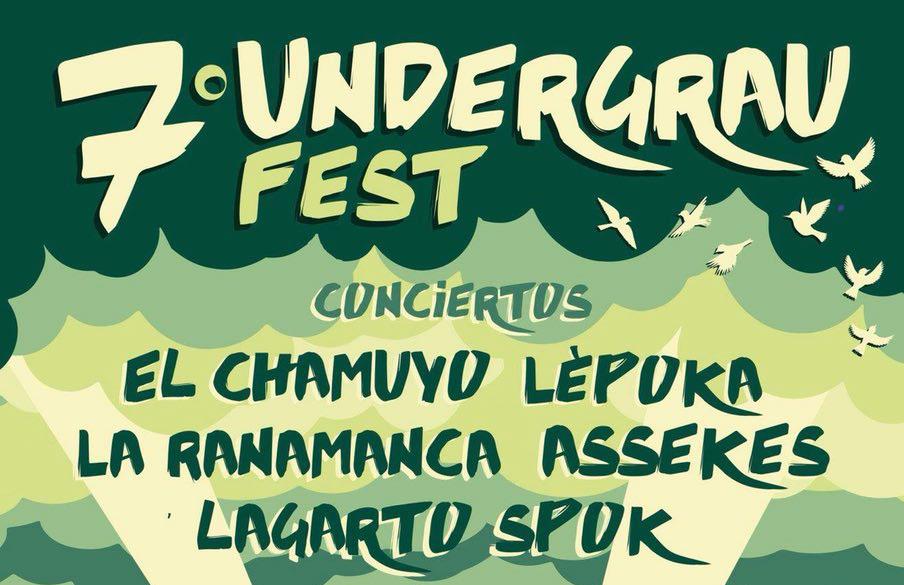 El Parque del Pinar de Castellón acogerá la séptima edición del Undergrau Fest