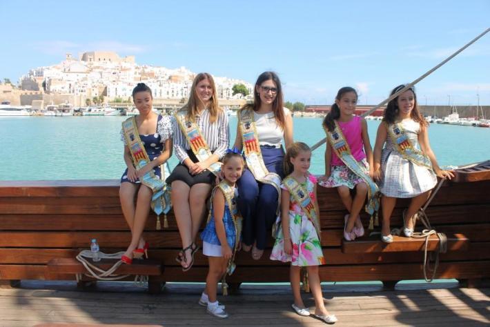 La Nao Santa María registra éxito de visitas en el puerto de Peñíscola