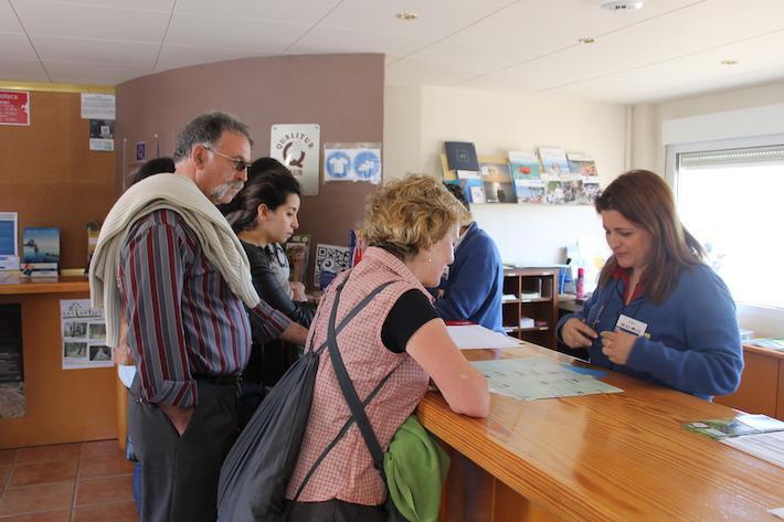 Las oficinas de información turística de Peñíscola han atendido 900 consultas diarias durante la temporada estival