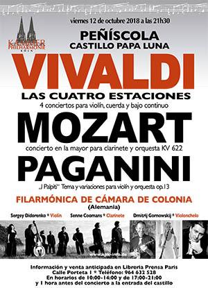 Concierto de la Filarmónica de Cámara de Colonia en Peñíscola