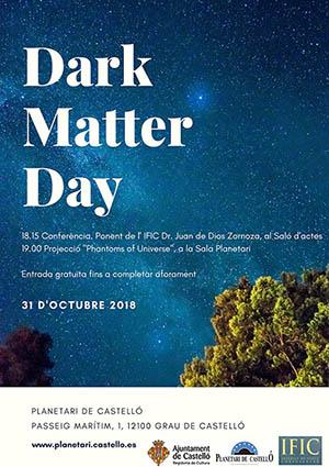 Día de la Materia Oscura en el Planetario de Castellón