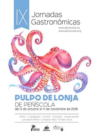 Jornadas del Pulpo de Lonja en Peñíscola
