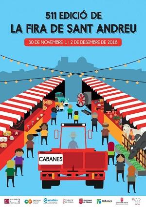 511 Feria de San Andrés en Cabanes