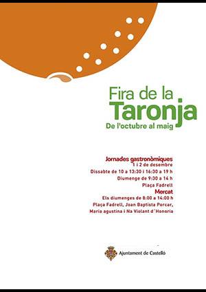 Jornadas gastronómicas de la Fira de la Taronja