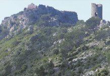 Castillo de Montornés en Desierto de las Palmas