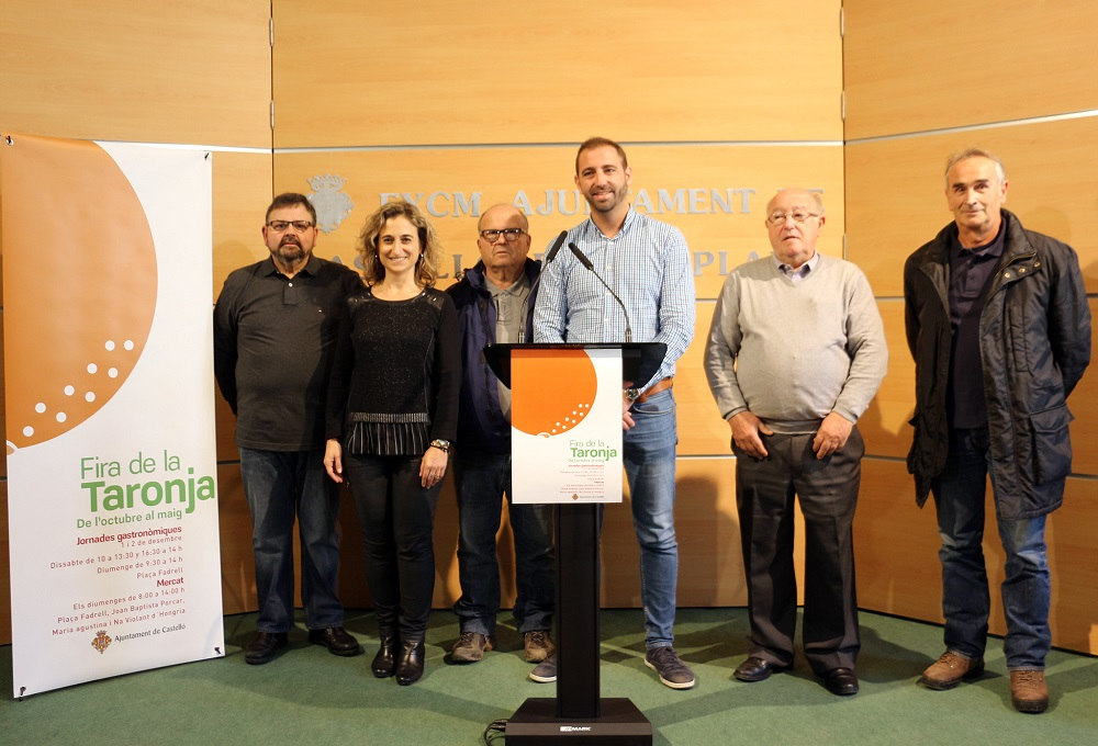 El ayuntamiento de Castellón promocionará la cocina con naranja en las Jornadas Gastronómicas de la Fira de la Taronja