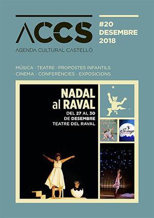 Agenda cultural diciembre 2018 Castellón