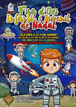Fira d'oci Infantil i Juvenil de Nadal de Castelló
