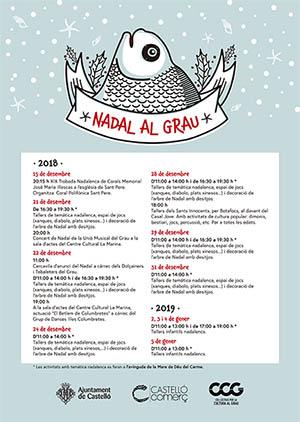 Navidad en el Grao de Castellón 2018